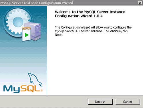 Instalacja MySQL - krok 3