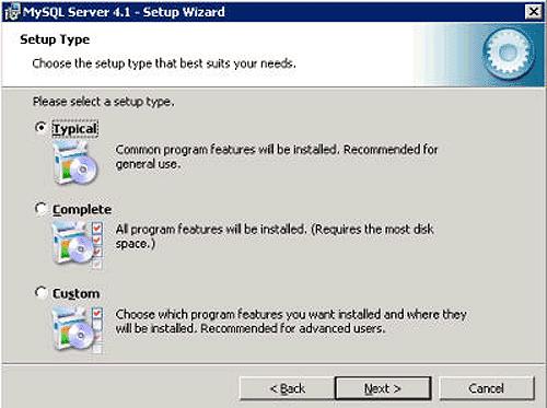 Instalacja MySQL - krok 2