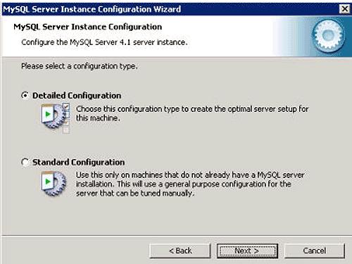 Instalacja MySQL - krok 4